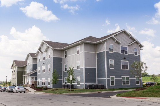Enclave West. Premiere Student Housing for Southern Illinois University Edwardsville SIUE